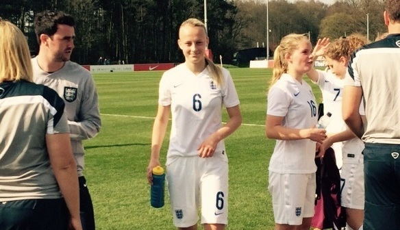 England debut for Riva Casley