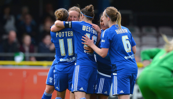 Jo Potter and Birmingham keep surprising themselves