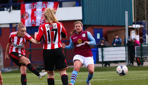 Keira Ramshaw scores against Aston Villa