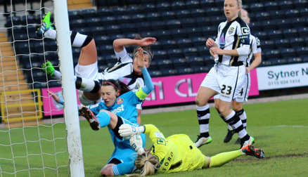Steph Bannon injured at Notts County
