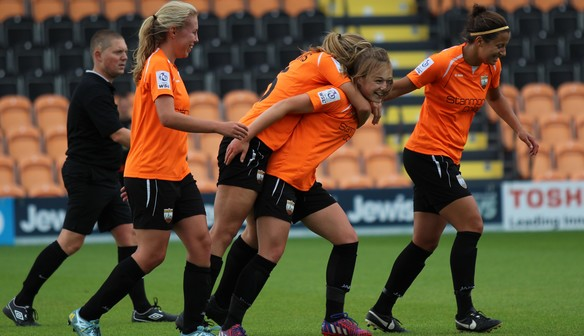 MATCH REPORT: London Bees 1 - 7 Everton Ladies