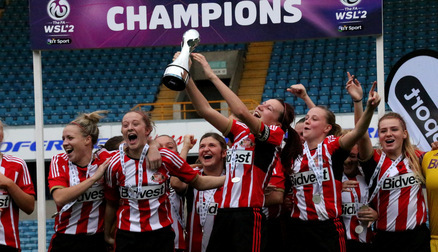 2014 WSL2 champions Sunderland