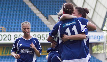 Millwall Lionesses - Courtesy of Georgie Belcher Photograghy
