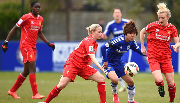 Apr 19 Chelsea Ladies FC 1 Liverpool Ladies FC 0