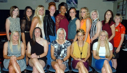 The Belles at the End Of Season Party (Photo - Doncaster Free Press)