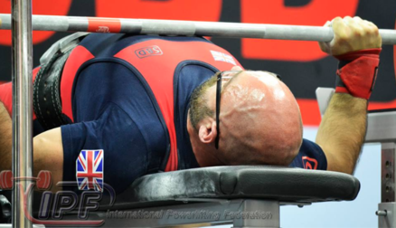 Paul Campbell's medal lifting performance