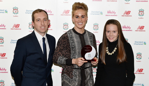 Anfield hosts annual Vitality Ladies Player of the Year awards