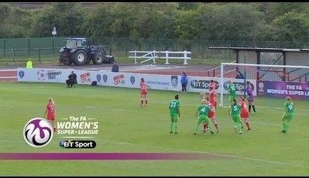 Bristol Academy 1-4 Sunderland AFC Ladies