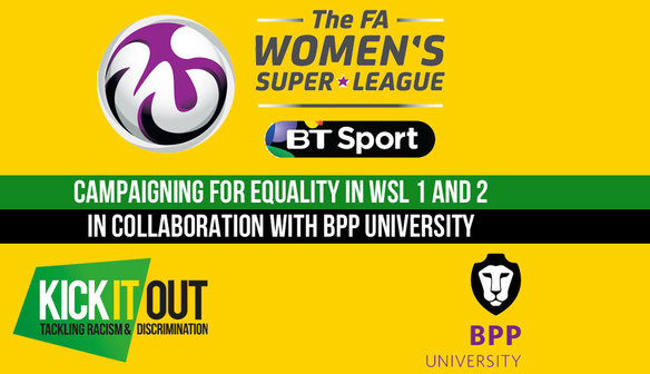 Kick It Out Collaborate with FAWSL