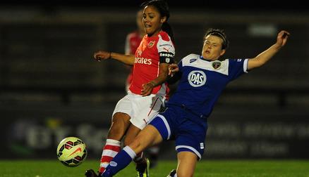 Arsenal 2-0 Bristol Academy