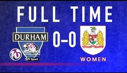 Durham Women 0-0 Bristol City Women | Goals & Highlights