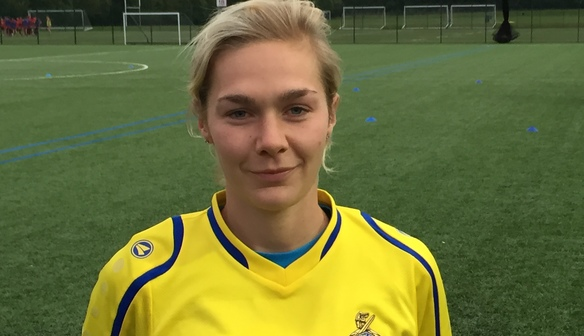 Emily Simpkins becomes Belles first full time player