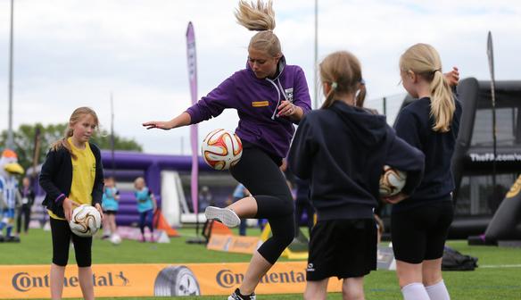 The FA Girl's Football Festival