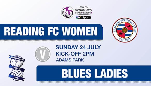 BLUES LADIES VS READING FC WOMEN