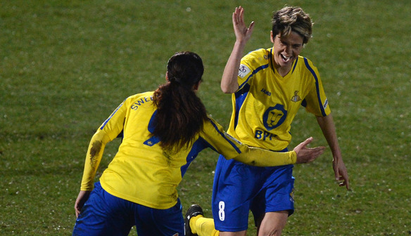 Sue Smith delighted as Doncaster go back to top