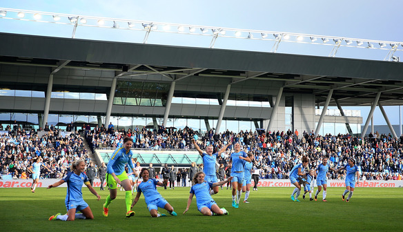 Toni Duggan: City's FAWSL crowning is a special feeling