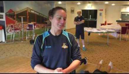 CHALLENGE: Nicola Hobbs' Push-Ups Challenge