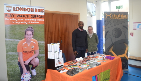 London Bees attend Stanmore College Careers Fair!