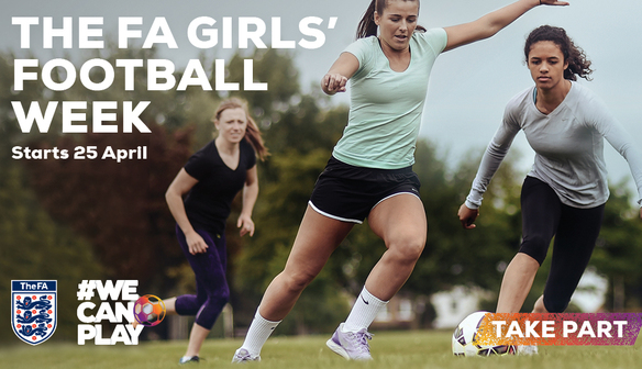 Girls Football Week!