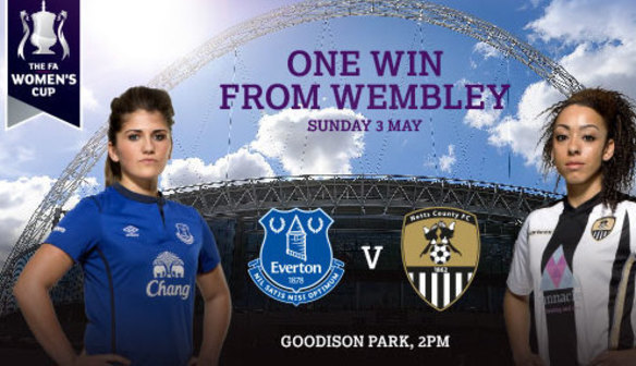 Semi-Final To Be Played At Goodison Park