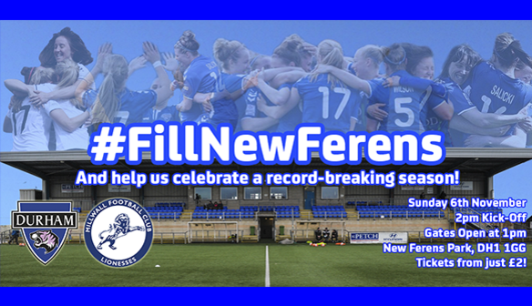 WE NEED YOU: To #FillNewFerens