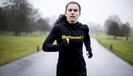 Karen Carney is on the #RoadToCanada, supported by Continental Tyres