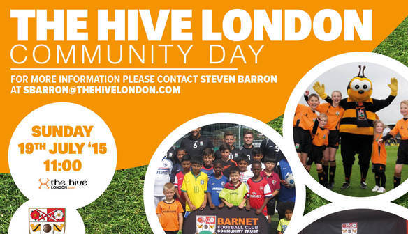 Come along to The Hive Community Day 2015!
