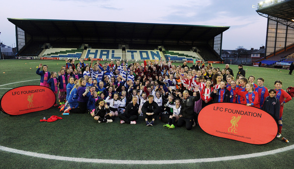 LFC Foundation host all girls football tournament