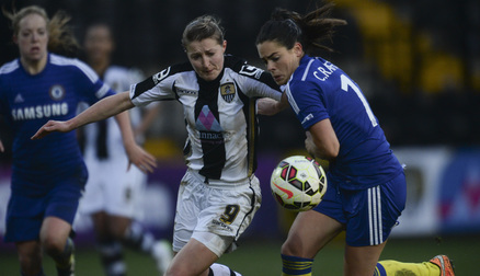 Ellen White battles with Claire Rafferty
