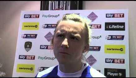 Laura Bassett on Signing for Notts County