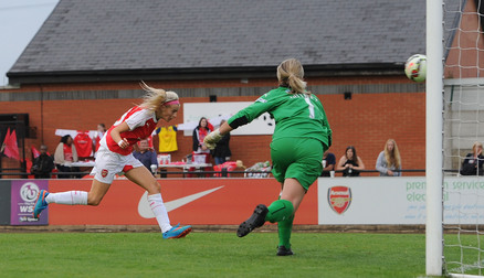 Chloe Kelly scores against Watford