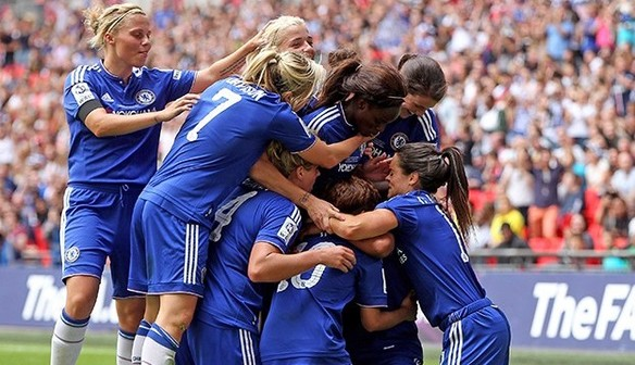 FA Women's Cup Final Report: Chelsea 1 Notts County 0