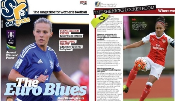 She Kicks Magazine Latest issue available NOW