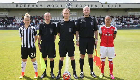Lady Pies Face Gunners in Cup Quarter Final