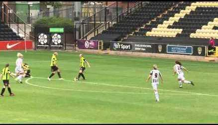 Notts County Ladies 5-0 Yeovil Town Ladies