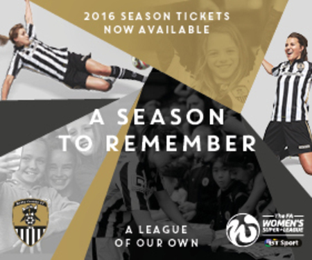 2016 Season Ticket