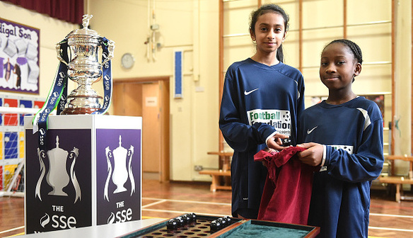 Women's FA Cup fourth round draw made in Wembley school