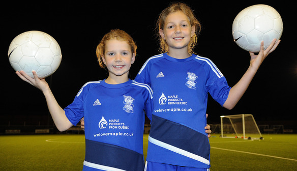 BIRMINGHAM CITY LADIES FC TALENT CLUB SECURES SWEET INTERNATIONAL SPONSOR
