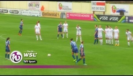 Birmingham City Ladies 1-0 Liverpool Ladies