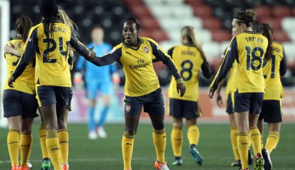 Positive Arsenal finish pleases England's Danielle Carter