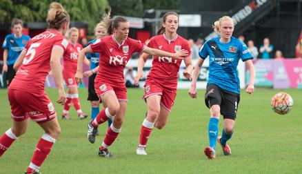 Sheffield FC Ladies V Bristol City Women