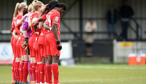Photo gallery:Reds lose 1-0 away to Chelsea Ladies