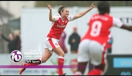 Arsenal Ladies 2-0 Doncaster Rovers Belles | Goals & Highlights