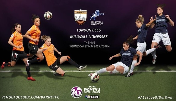 PREVIEW: London Bees v Millwall Lionesses