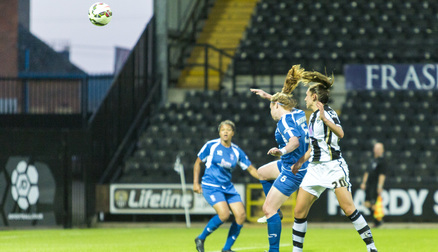 Aileen Whelan Heads in the Last Minute Winner
