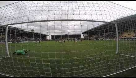 Goalcam: FAW Cup Quarter Final V Aston Villa