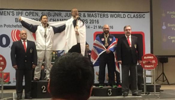 Paul Campbell: World Bronze Medallist