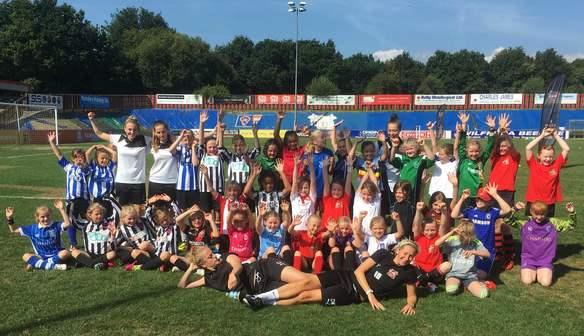 Sister Clubs Enjoy Football Camp