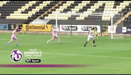 Notts County Ladies 3-2 Reading Women