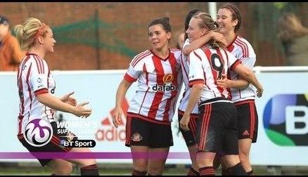 Sunderland Ladies 4-0 Doncaster Rovers Belles   Goals & Highlights